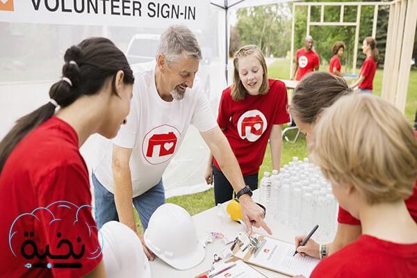 أهمية العمل التطوعي المهنية