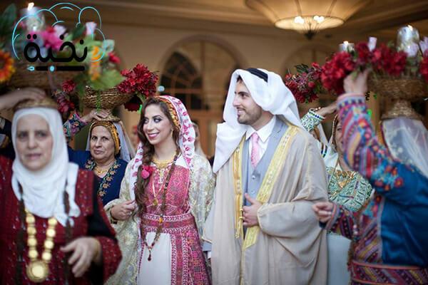 عادات وتقاليد فلسطين في الأعراس